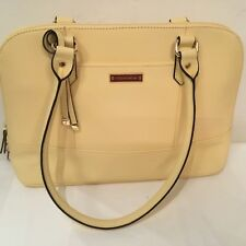 Tignanello Clean & Classic Saffiano Leather Satchel - Canary