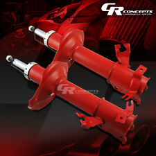 PAIR RED REAR GAS SHOCKS ABSORBER STRUT LH+RH SIDE KIT FOR 95-99 NISSAN MAXIMA