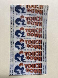 1948 Bowman Football Touchdown Card Wax Wrapper Reprint