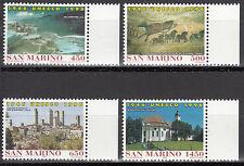 San Marino Nr. 1678-1681** 50 years UNESCO / World Heritage