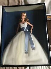 Monique Lhuillier Novia Barbie Platino Etiqueta 2006 Firmado Raro Htf