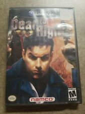 Dead to Rights (Nintendo GameCube, 2002)Complete W/Manual *Tested/Working*