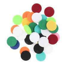 Tampons de collier de parfum d'huile essentielle de 48pcs diffuseur pendant