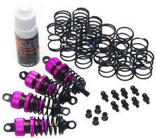 Yeah Racing DSG-0055PK Shock-Gear 55mm Damper Set for 1/10 RC Touring Car Pink
