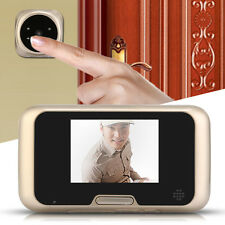"3.2"" LCD Digital Peephole Door Eye Doorbell Video Color IR Camera Night VIsion"