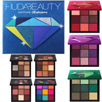 9 Color Huda Beauty Obsessions Eyeshadow Palette Eyes Cosmetic Gemstone Coral