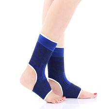 1Ankle Support Brace Elastic Compression Wrap Sleeve Sport Relief Pain Foot aUs