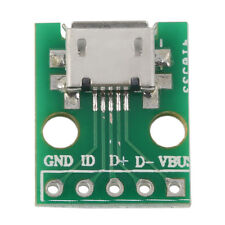 MICRO USB to DIP Adapter 5pin Female Connector B Type PCB Converter F5