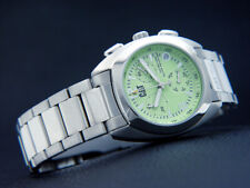 Cat Ladies' Watch Chronograph Skipper Ca 0993 Solid Stainless Steel Green Face