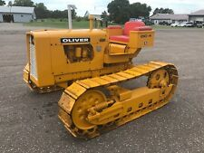 1965 OLIVER OC-4 ROW CROP CRAWLER, RESTORED, COLLECTABLE, LAST YR OLIVER CRAWLER