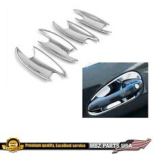 CHROME DOOR HANDLE SHELL CAP INSERT BOWL TRIM AMG COVERS C230 C240 CLS500 CLS55
