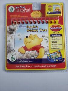My First LeapPad Leap Pad Disney Poohs Honey Tree Book & Cartridge  Preschool