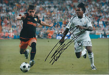 Royston DRENTHE SIGNED COA Autograph 12x8 Photo AFTAL Real MADRID DUTCH