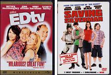 Dvd Set: Edtv (Matthew McConaughey, Ellen DeGeneres) & Saving Silverman