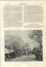 1894 Theatre Street In Yokohama Japan Marion Hepworth Dickson Short Play