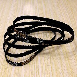 5 x 150XL 150XL037 Timing Belt 75 Teeth Cogged Rubber Geared Belt 10mm Wide