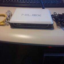 NILOX 16NX080112001 54M WIRELESS ADSL2+ ROUTER usato