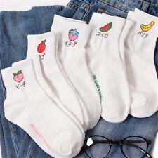 Fruit Watermelon Peach Strawberry Socks Women Korea Harajuku Cartoon Cute Socks