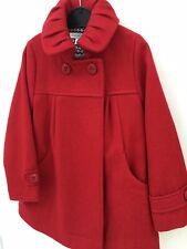 Girls Red Coat 4 Years