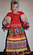 "VTG RUSSIAN SOVIET UNION USSR Large DOLL Mache Cloth 31"" Galina Maslennikova? #2"