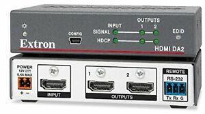 Brand New Extron HDMI DA2 Distribution Amplifier Two Output, part no. 60-997-01