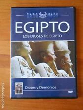 DVD EGIPTO - LOS DIOSES DE EGIPTO - DIOSES Y DEMONIOS - CAJA SLIM (G3)