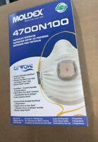 Moldex 4700 AirWave Box - 5 Ventex Valve - New USA Made Only Exp. 08/2024
