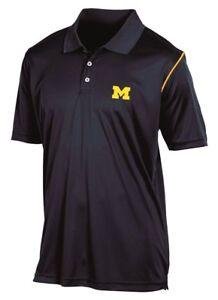 "Michigan Wolverines Champion NCAA ""Playclock"" Performance Polo Shirt"