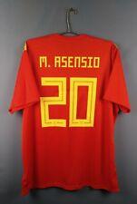 4.9/5 Asensio Spain soccer jersey 2Xl 2019 shirt Cx5355 football Adidas ig93