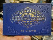 Sweet little 1876 Centennial International Exhibition memorial viewbook 48 views