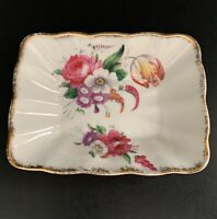 Royal Albert Lady Angela Trinket Dish Pin Dish Floral Pattern