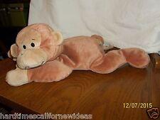 Ty Pillow Pals Swinger Plush Monkey Green Bow 1997 Plush