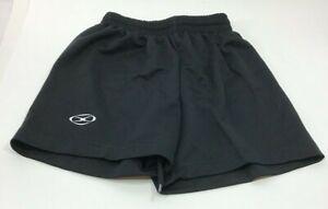 Xara Youth Small Black Soccer Shorts NEW BB3