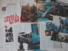 STANLEY KUBRICK_Full Metal Jacket_clippings_articoli_interviste d'epoca_1987