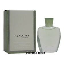 * REALITIES for MEN by LIZ CLAIBORNE * 0.18 oz (5.3 ml) Mini Sample * NEW in BOX