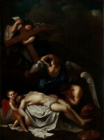 Beweinung Christi - 18. Jahrhundert. - Öl/Leinwand
