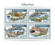 More details for mozambique marine animals stamps 2018 mnh sharks whale shark fauna 4v ms