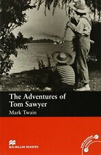 The Adventures of Tom Sawyer: Beginner (Macmillan Readers) by Twain New..