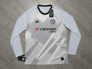 NWT Nike 2019/20 Chelsea Goalkeeper Long Sleeve Jersey Sz L - BV1489 044 - CFC