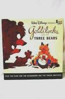 Vintage Goldilocks Bears Story Walt Disney Disneyland LP Vinyl Record L1. -1963