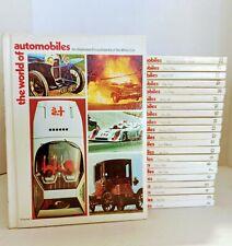 VTG The World of Automobiles Encyclopedia of the Motor Car 1970s 22 Vol Set HC
