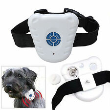 Pet Dog Stop Barking Anti Bark Training Trainer Ultrasonic Device Control Collar
