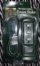 Home Center 3 Outlet Outdoor Power Stake Extension Cord New Reduced Only $29.00