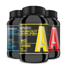 ALPHADROX TRIO - Pre, Active Amplifier, & Post Workout Formulas for MAX RESULTS!