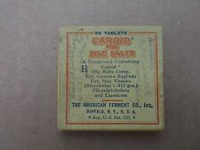 Caroid and Bile Salts Vintage Package