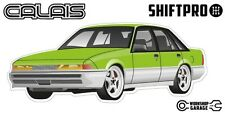 VL Calais Holden Commodore Sticker - Lime with Mono Rims - ShiftPro Brand