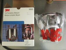 3M 6800 Full Face Health & Safety Respirator Medium