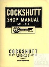 Cockshutt 30 & E3 Tractor Dealer Shop Service Manual