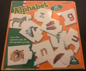 EARLY LEARNING CENTRE ELC (UK) ALPHABET  Puzzle HIGH QUALITY BNIB
