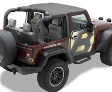 Jeep Wrangler Jk 2 puertas CABECERA BIKINI TOP STRAPLESS STYLE BLACK DIAMOND 10